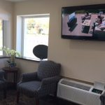 Travel Inn & Suites lobby